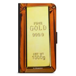 Bjornberry Plånboksfodral OnePlus 5 - Guldtacka