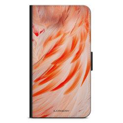 Bjornberry Plånboksfodral OnePlus 6T - Flamingo Fjädrar