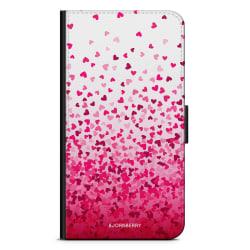 Bjornberry Plånboksfodral OnePlus 6T - Hjärtkonfetti