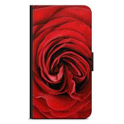 Bjornberry Plånboksfodral OnePlus 7T Pro - Röd Ros