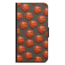 Bjornberry Plånboksfodral OnePlus 8 - Basketbolls Mönster