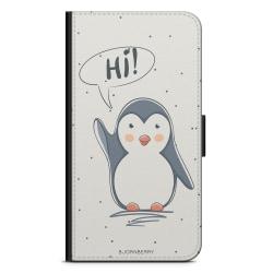 Bjornberry Plånboksfodral Sony Xperia 1 - Söt Pingvin
