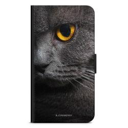 Bjornberry Plånboksfodral Sony Xperia 5 - Katt Öga