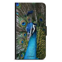 Bjornberry Plånboksfodral Sony Xperia 5 - Påfågel