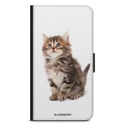 Bjornberry Plånboksfodral Sony Xperia 5 - Söt Kattunge