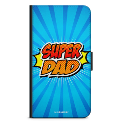 Bjornberry Plånboksfodral Sony Xperia 5 - Super Dad