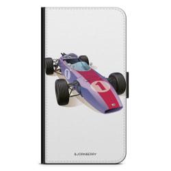 Bjornberry Plånboksfodral Sony Xperia L3 - Klassisk F1 Bil