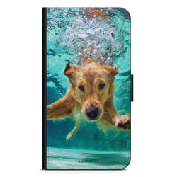 Bjornberry Plånboksfodral Sony Xperia L4 - Dog Underwater