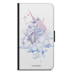 Bjornberry Plånboksfodral Sony Xperia L4 - Vattenfärg Enhörning