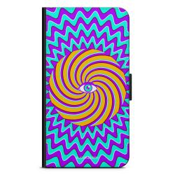 Bjornberry Plånboksfodral Sony Xperia XA - Färgglad Hypnotisk