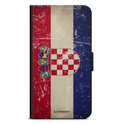 Bjornberry Plånboksfodral Sony Xperia XA - Kroatien