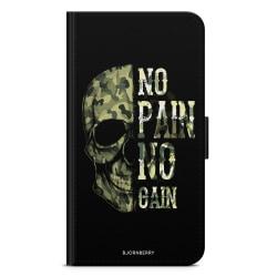 Bjornberry Plånboksfodral Sony Xperia XA - No Pain No Gain