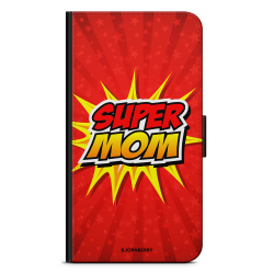 Bjornberry Plånboksfodral Sony Xperia XA1 - Super mom