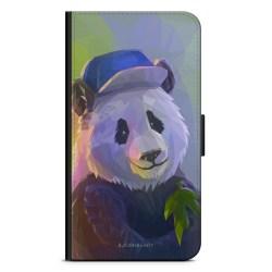 Bjornberry Plånboksfodral Sony Xperia XA2 - Färgglad Panda