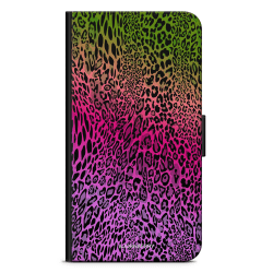 Bjornberry Plånboksfodral Sony Xperia XA2 - Gradient Leopard