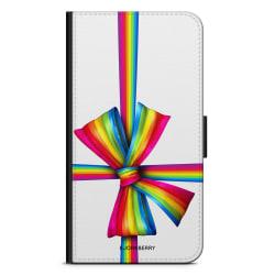 Bjornberry Plånboksfodral Sony Xperia XA2 - Present Snöre