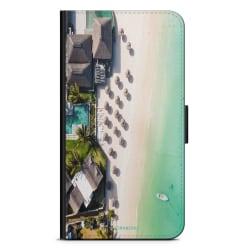 Bjornberry Plånboksfodral Sony Xperia XA2 - Tropisk Strand