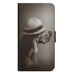 Bjornberry Plånboksfodral Sony Xperia XZ2 - Hund med Hatt