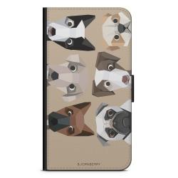 Bjornberry Plånboksfodral Sony Xperia XZ2 - Söta Hundar