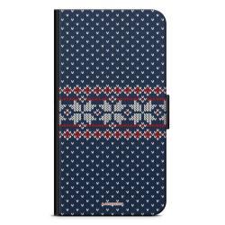Bjornberry Plånboksfodral Sony Xperia XZ3 - Stickad Jul