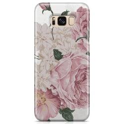 Bjornberry Samsung Galaxy S8 Premium Skal - Pink Roses