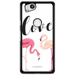 Bjornberry Skal Google Pixel 2 - Love Flamingo