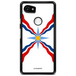 Bjornberry Skal Google Pixel 2 XL - Assyriska flaggan