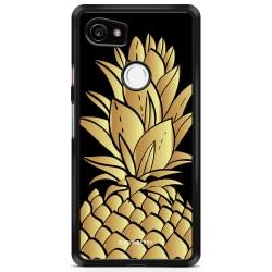 Bjornberry Skal Google Pixel 2 XL - Guldig Ananas