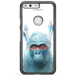 Bjornberry Skal Google Pixel XL - Färgglad Gorilla