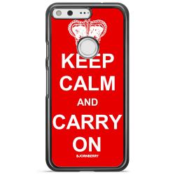 Bjornberry Skal Google Pixel XL - Keep calm carry on