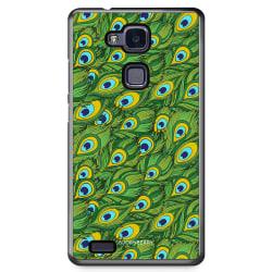 Bjornberry Skal Huawei Honor 5X - Påfågels Mönster