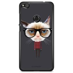 Bjornberry Skal Huawei Honor 8 Lite - Hipster Katt