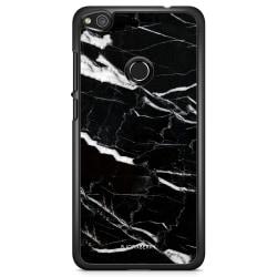 Bjornberry Skal Huawei Honor 8 Lite - Svart Marmor