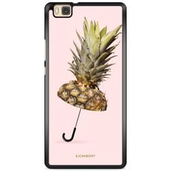 Bjornberry Skal Huawei P8 Lite - Ananas Paraply
