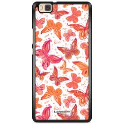 Bjornberry Skal Huawei P8 Lite - Fjärilar