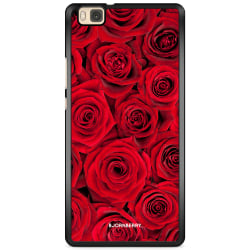 Bjornberry Skal Huawei P8 Lite - Röda Rosor
