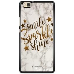 Bjornberry Skal Huawei P8 Lite - Smile,Sparkle,Shine