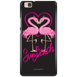 Bjornberry Skal Huawei P8 Lite - Sun Beach Flamingo