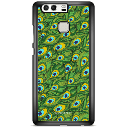 Bjornberry Skal Huawei P9 Plus - Påfågels Mönster