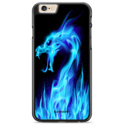 Bjornberry Skal iPhone 6 Plus/6s Plus - Blå Flames Dragon