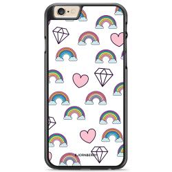 Bjornberry Skal iPhone 6 Plus/6s Plus - Regnbågar Diamanter