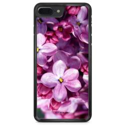 Bjornberry Skal iPhone 8 Plus - Lila Vårblommor