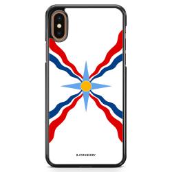 Bjornberry Skal iPhone XS Max - Assyriska flaggan