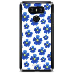Bjornberry Skal LG G6 - Blå Blommor