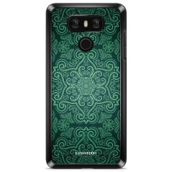 Bjornberry Skal LG G6 - Grön Retromönster