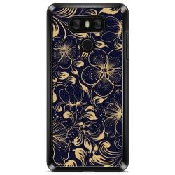 Bjornberry Skal LG G6 - Mörkblå Blommor