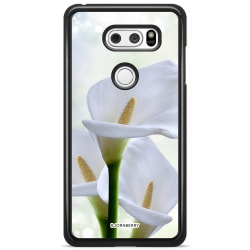 Bjornberry Skal LG V30 - Vit Blomma