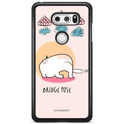 Bjornberry Skal LG V30 - Yoga Cat Bridge Pose