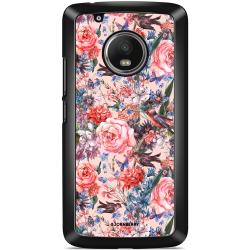 Bjornberry Skal Moto G5 Plus - Fåglar & Blommor