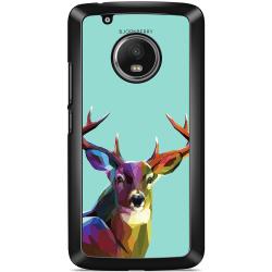 Bjornberry Skal Moto G5 Plus - Färgglad Hjort